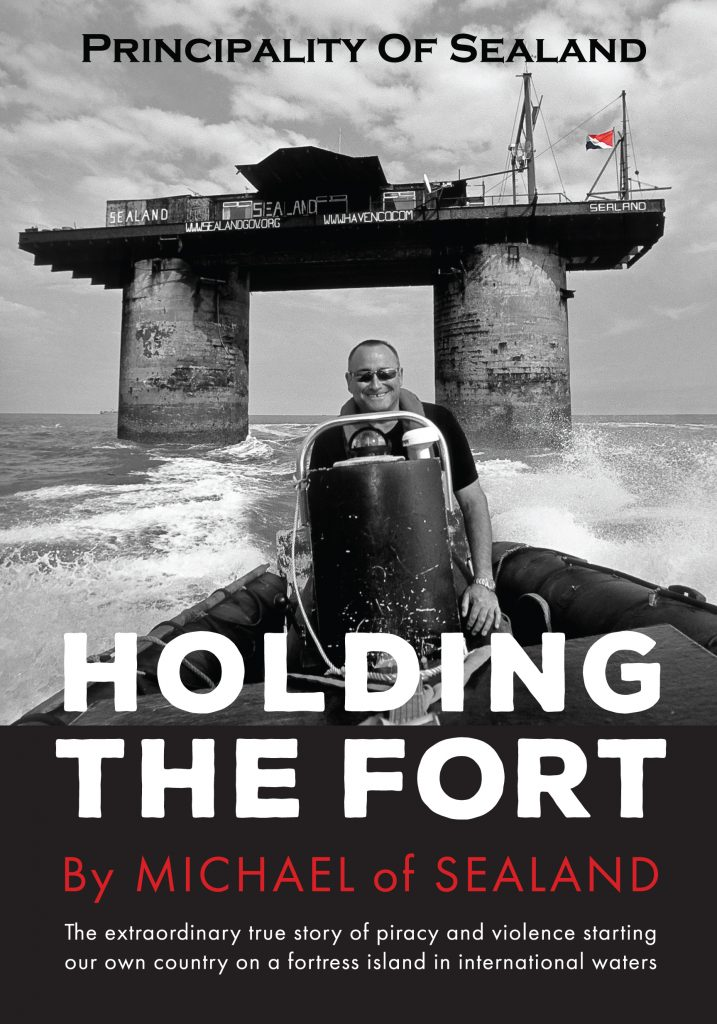 holding the front sealand book
