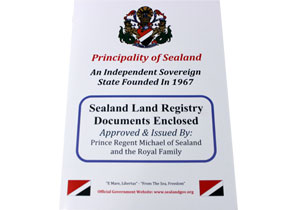 sealand deed pack