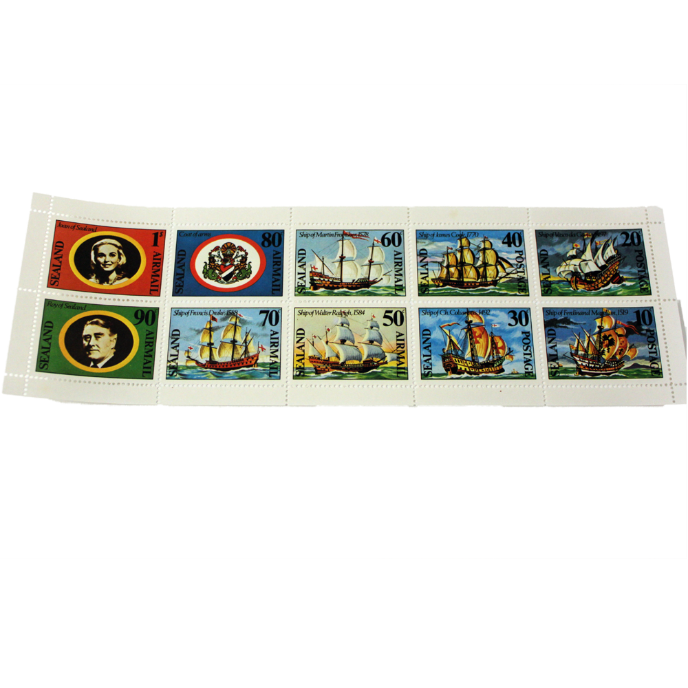 sealand 1977 stamps