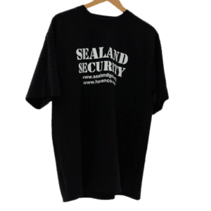 sealand security shirt